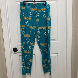 Team sleepwear PJ bottoms XL very gd preowned